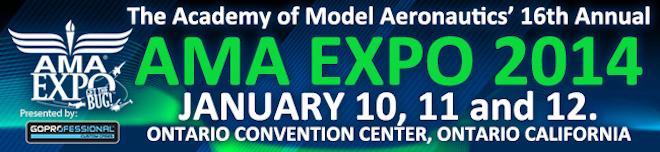 AMA Expo 2014 - January 10, 11, & 12 at the Ontario Convention Center